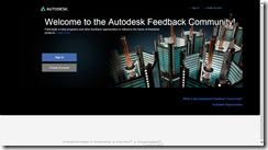 Old Autodesk Feedback Comunity Dark Theme