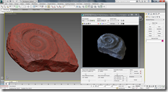 Spiral Tooth Shark Tooth Model in 3ds Max