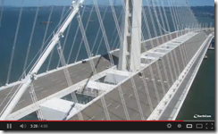 San Francisco Bay Bridge New Span Completed – Experience the Time Lapse