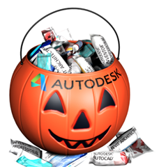 Autodesk Trick or Treat Bucket