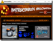 Instructables Halloween Page