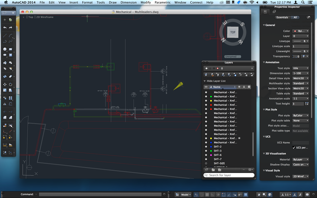 Exceptionnel ... AutoCAD 2014 For Mac Retina Support Screenshot 1 ...