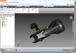 Autodesk Inventor running in HTML5 Chrome Browser