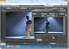 Autodesk 3ds Max running in HTML5 Firefox Browser