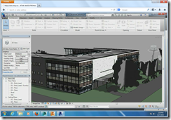 Autodesk Revit running in HTML5 Firefox Browser
