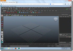 Autodesk Maya running in HTML5 Chrome Browser
