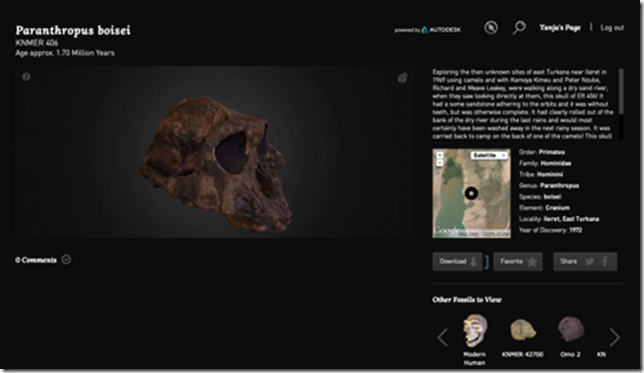 Search AfricanFossils.org