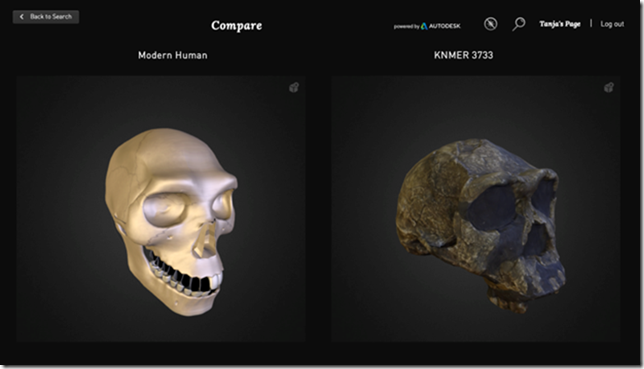 Compare AfricanFossils.org