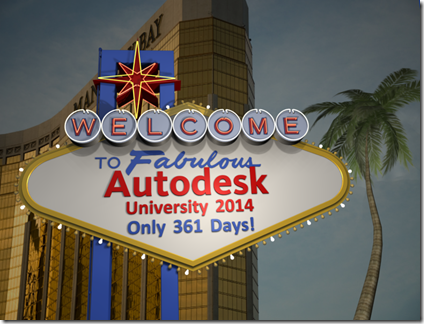Welcome to AU 2014 at Mandalay Bay