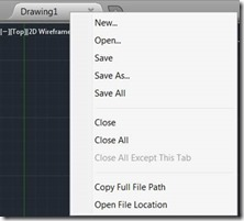 AutoCAD for Mac 2014 - Open File Location