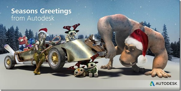Seasons Greetings from Autodesk!