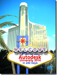 Welcome to Autodesk University 2014