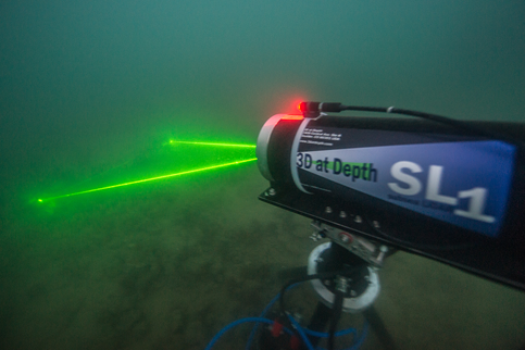 Subsea Lidar by 3D at Depth