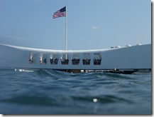 Capturing the USS Arizona in 3D Project - The USS Arizona Memorial as Seen from a SCUBA Diver View