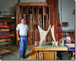 Carl Bass in his workshop