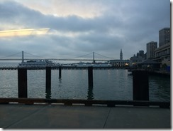 View from Autodesk's Pier 9 Workshop