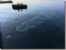 Tears of Oil leaking from USS Arizona