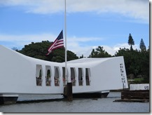 USS Arizona Memorial on Memorial Day