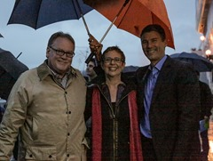 Jonathan Knowles - Autodesk, Artist Janet Echelman, and the Mayor of Vancouver Gregor Robertson