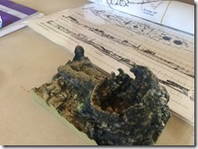 3D Color Print of Cooking Pot Artifact from USS Arizona