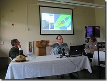 US National Park Service USS Press Event on Memorial Day - Autodesk's Pete Kelsey Presenting