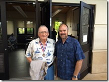USS Arizona Survivor Don Stratton and Shaan Hurley (me)
