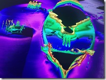 Capturing the USS Arizona in 3D Project - Sidescan SONAR