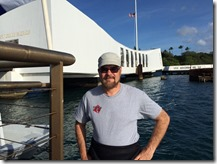 Capturing the USS Arizona in 3D Project - Shaan Hurley Preparing to Dive