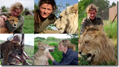 Tatjana and her love of big cats, and their love of her