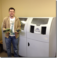 Whiteclouds Kyle Gifford and the 3D Print of the USS Arizoina Artifacts