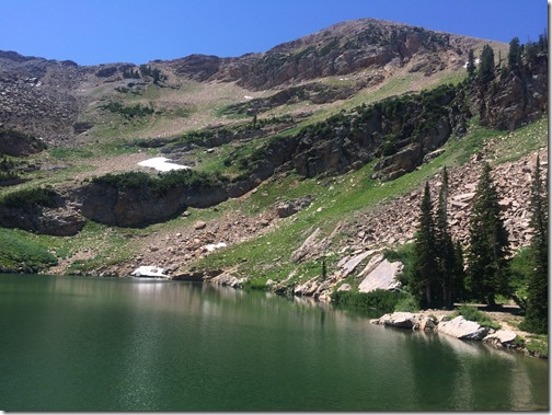 Cecret Lake in Little Cottonwood Canyon