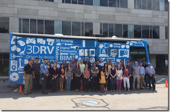 Autodesk Waltham MA Team with the 3DRV