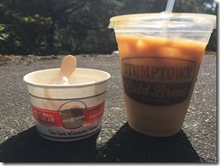 Stumptown Coffee and Salt and Straw Ice CReam at TEDx Portland 2015