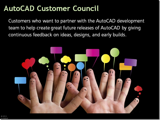 AutoCAD Customer Council