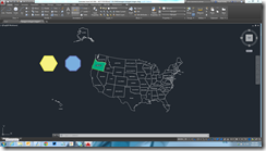 The Oregon Drawing in AutoCAD 2016
