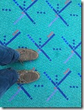 Shaan on PDX old carpet