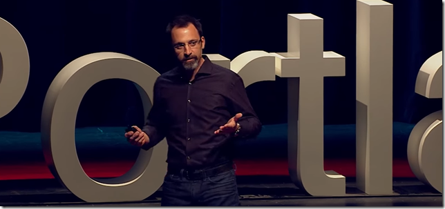 Maurice Conti the Director of Strategic Innovation speaking at TEDx Portland 2016