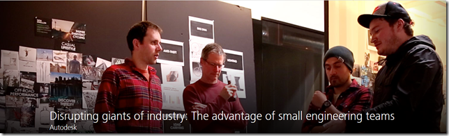 Disrupting giants of industry: The advantage of small engineering teams