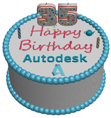 Happy 35th Birthday Autodesk