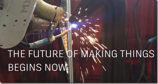 The Future of Making Things, Begins Now