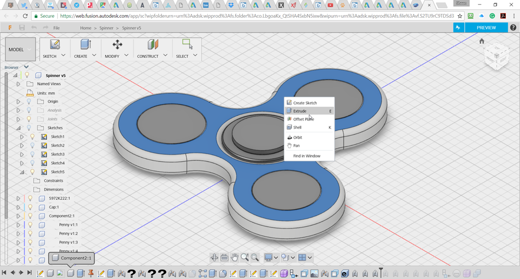 Fusion 360 in the Web Browser (Between the Lines)