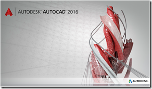 AutoCAD 2016 Splash