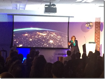 "Dr. Sylvia Earle speaking at Autodesk Design Night ""Deep Dive"""