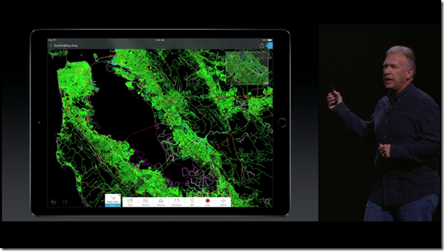 AutoCAD 360 Shown Live Onstage at the Apple iPad Pro Announcement