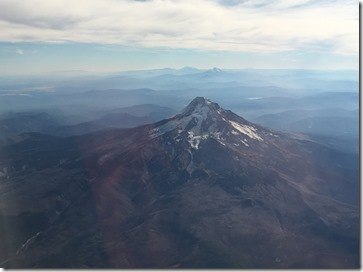 My Hood - Mt Hood from the flight