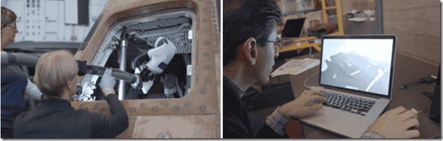 Autodesk Employees along with Smithsonian Team Capturing Apollo 11 Command Module in 3D