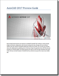 AutoCAD 2017 Preview Guide