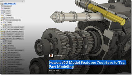 Fusion 360 Model Features You Have to Try: Part Modeling by SolidSmack