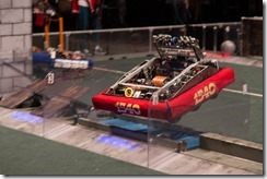 Team 1540 Flaming Chickens Robot