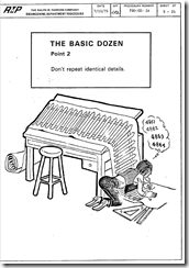 The Basic Dozen Drafting Standards Point 2